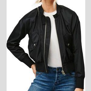 FP Midnight Bomber Jacket w/Zipper and Pockets